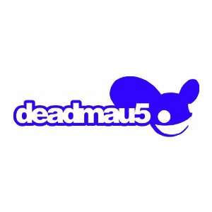 DeadMau5 Band LOGO   6 BLUE   Vinyl Decal Sticker Automotive