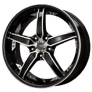 Drag DR 39 Gloss Black Wheel with Machined Undercut (18x8/5x114.3mm)