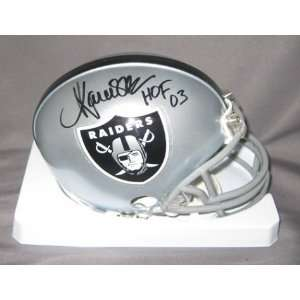 Marcus Allen Oakland Raiders NFL Hand Signed Mini Football