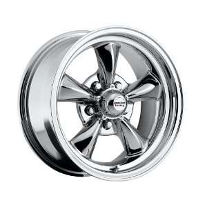 15 inch 15x7 100 C Classic Series Chrome aluminum wheels