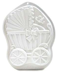 Pantastic Baby Carriage Buggy Cake Pan Oven/Microwave