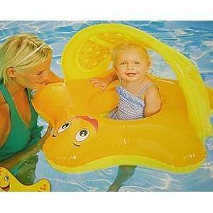 Swim Ways Sun Canopy Starfish Baby Float Colors May Vary Toys & Games