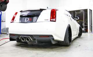 D3 Rear Diffuser for Cadillac CTS V Coupe 2011 2012