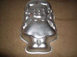 WILTON Doll Cake Pan   Great Shape