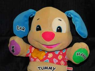 Laugh Learn Fisher Price Musical Talking Puppy DOG TOY