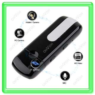 New Mini Sensor Detector DVR USB DISK Spy Camera Motion