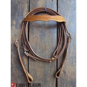 Leather Tack Horse Bridle Headstall Reins 014