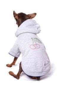 BIG DOG CLOTHES  Cherries Hoodie   24   Large Dogs